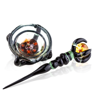 Dragon Sphere Custom Dabber Set with Dish by Empire Glassworks 1