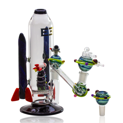 Galactic Flagship Custom Rig by Empire Glassworks (14mm)