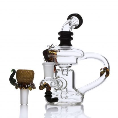 Mini Beehive Recycler by Empire Glassworks