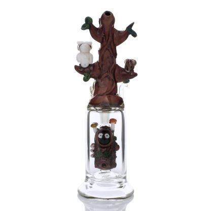 Hootie and Friends Custom Mini Rig Water Bubbler by Empire Glassworks