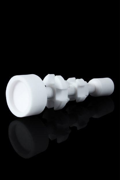 Adjustable combo 14mm and 18mm ceramic nail