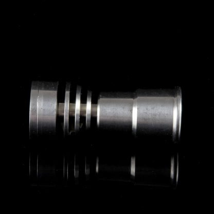 Saucer Top Titanium Nail - Fits 14mm and 18mm Male Fitting