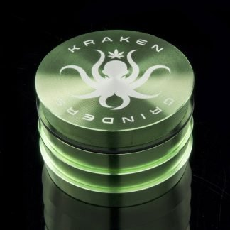 "2.2"" Tiered Grip Grinder by Kraken (Green)"