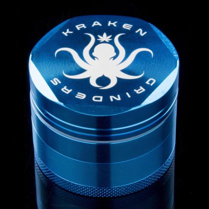 "2.2"" Diamond Grip 4-part Grinder by Kraken (Red)"