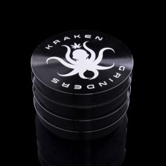 "2.2"" Tiered Grip Grinder by Kraken (Black)"